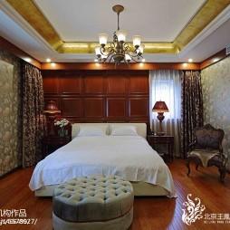 中式别墅卧室装修