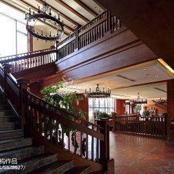 新古典风格俱乐部楼梯装修