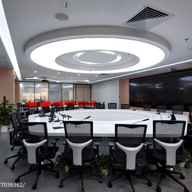 办公楼会议室吊顶设计