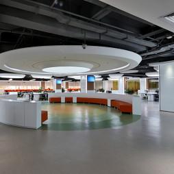 平安科技有限公司大厅装修案例