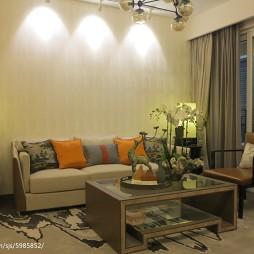 家装新中式客厅装修效果图