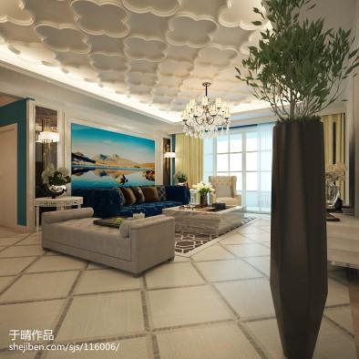 北京室内设计师于晴作品【精致美式】_2391009