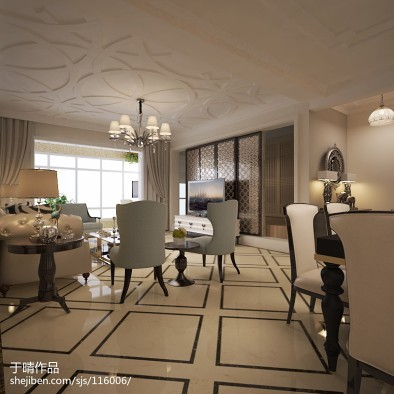 北京室内设计师于晴作品【城市奢华四川省成