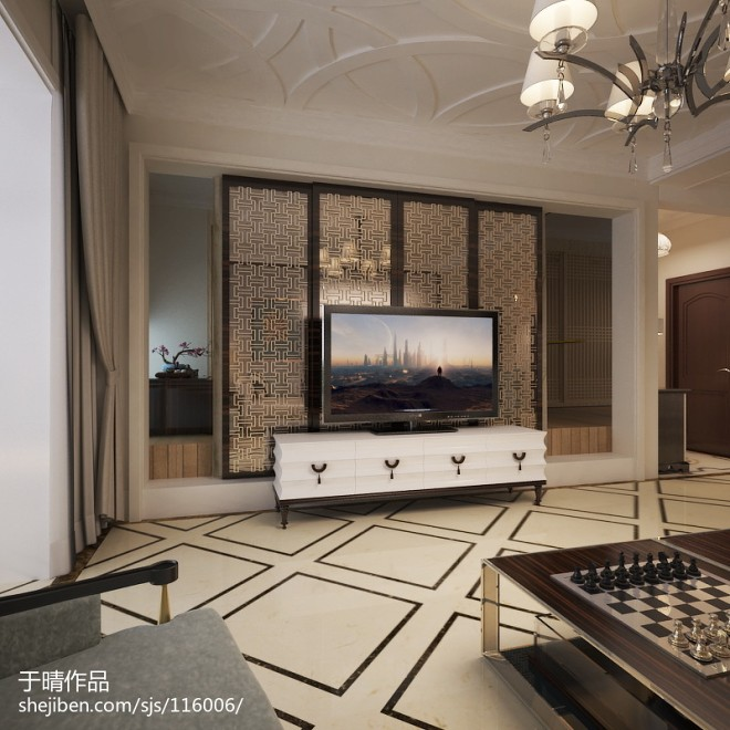 北京室内设计师于晴作品【城市奢华四川