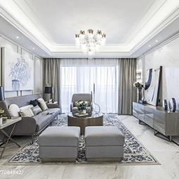欧式风格客厅设计案例