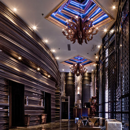 时尚酒吧吊顶设计