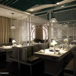 中餐厅就餐区装修