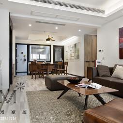 现代三居室客厅设计