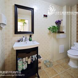 美甲店洗手间设计