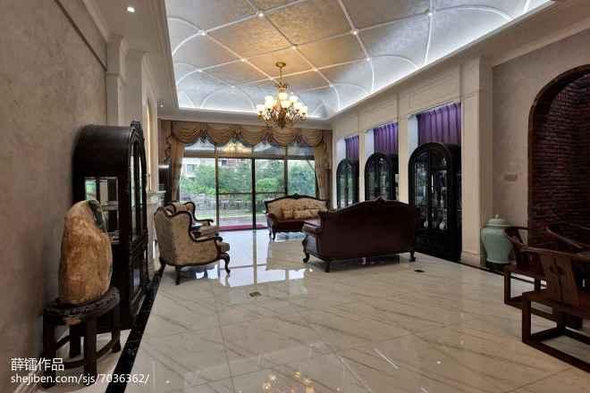新古典风格别墅休闲区设计