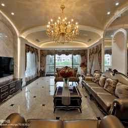 奢华新古典风格别墅客厅装修