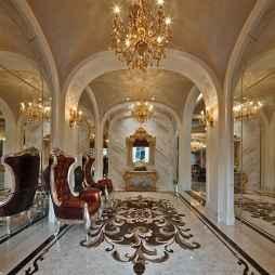 新古典风格别墅玄关设计