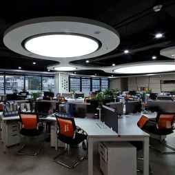 工装办公楼办公区域设计