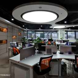 办公楼办公区卡位设计