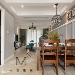 家装美式风格餐厅设计