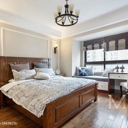 时尚美式风格卧室设计