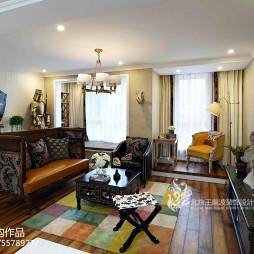 家装混搭风格客厅效果图