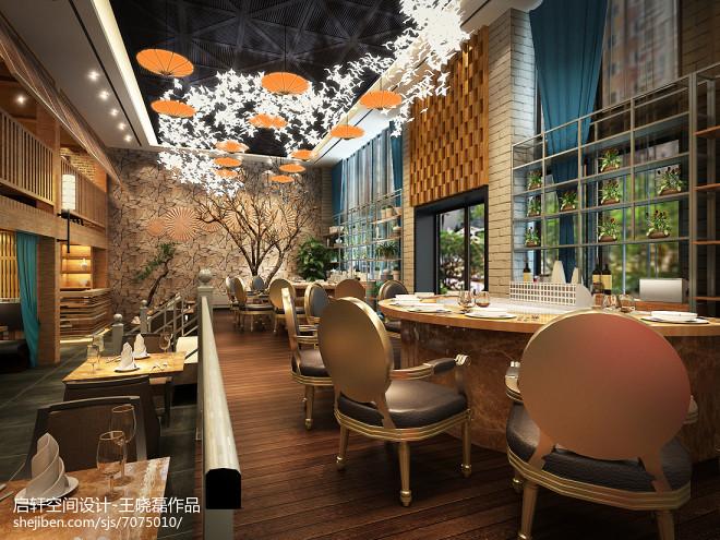 宁夏银川铁板烧餐厅600平米_239