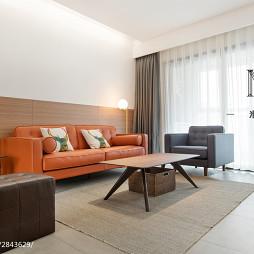 现代二居室客厅装修
