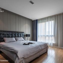 现代三居室卧室设计