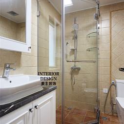 美式风格卫浴装修案例