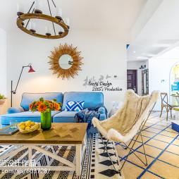 地中海格调客厅设计方案