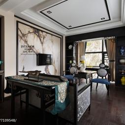 中式风格别墅书房设计