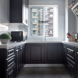 现代格调厨房装饰图