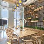 香年广场办公室餐厅装修