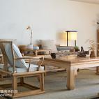 中式韵味办公空间休闲区装修
