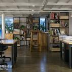 香年广场办公室书架装修