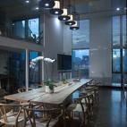 中式办公室会议室设计