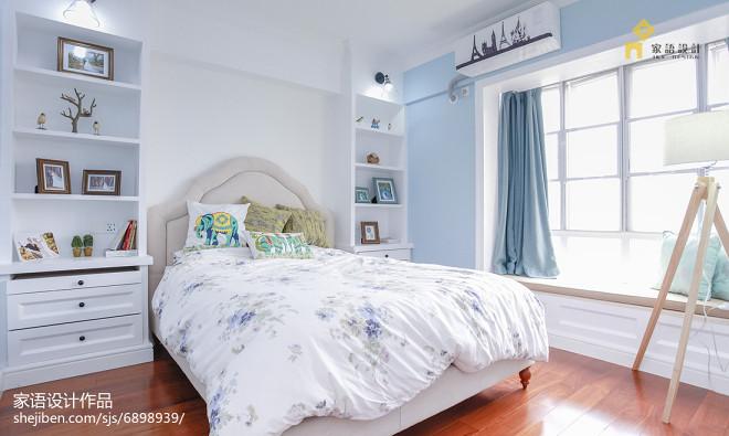 美式风格家居卧室布置