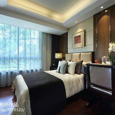 新中式105平米 重庆样板房_2402999