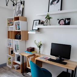 时尚北欧风格书房设计案例