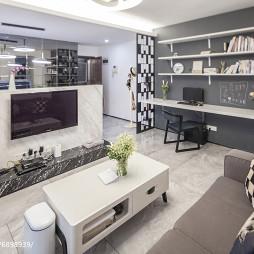 现代风格家居客厅装修设计