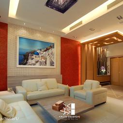 现代风格别墅客厅设计