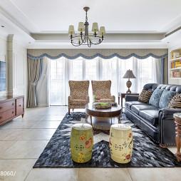 美式四居室客厅设计