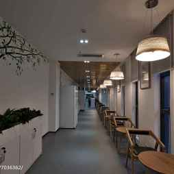 公司办公空间创意过道设计