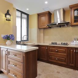 193㎡乡村美式厨房装修