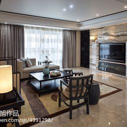 雅致中式风格客厅装修图