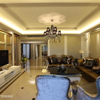 新古典时尚家居背景墙设计