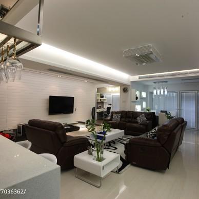 现代时尚家居客厅设计