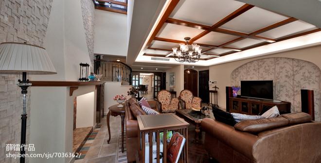 家装田园风格客厅设计