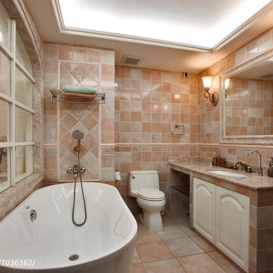 家装田园格调卫浴设计