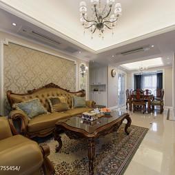 家居风欧式格调客厅装饰图