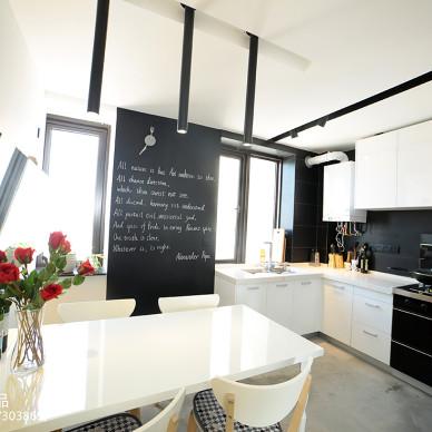 LOFT风格厨房装修案例