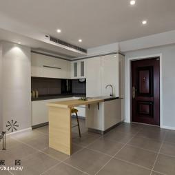 现代风格家居吧台设计图片