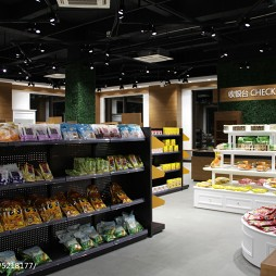 进口食品超市装修