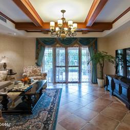 欧式风格家居客厅设计图片